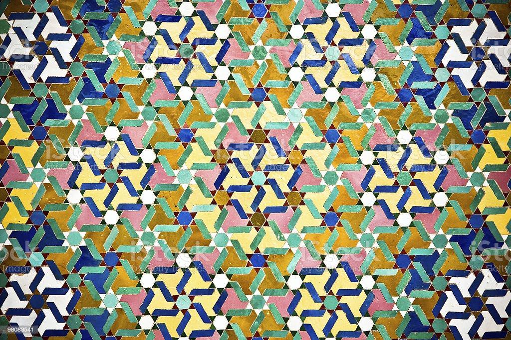 Arab texture stock photo