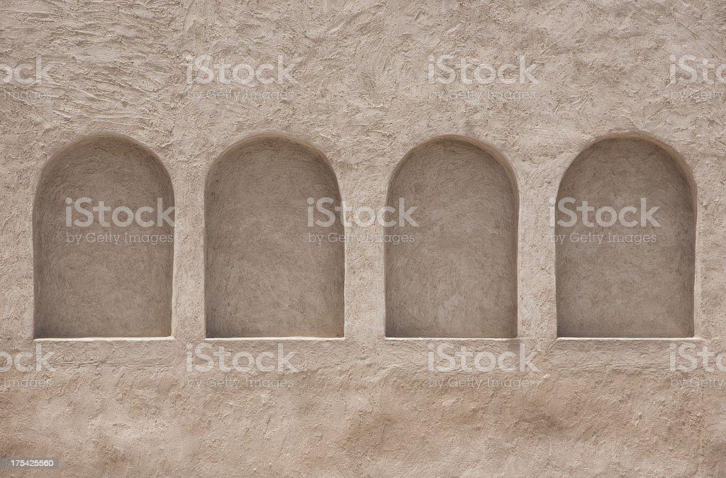 Arab Windows royalty-free stock photo