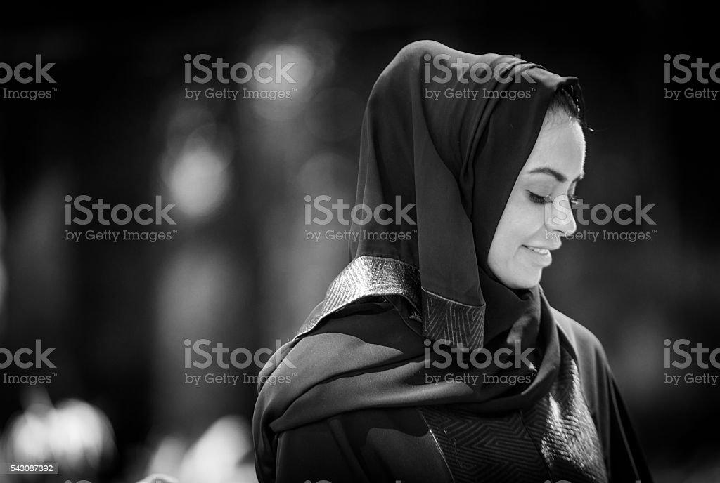Arab Woman stock photo