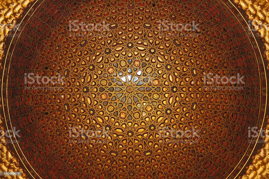 Arabesque Dome royalty-free stock photo