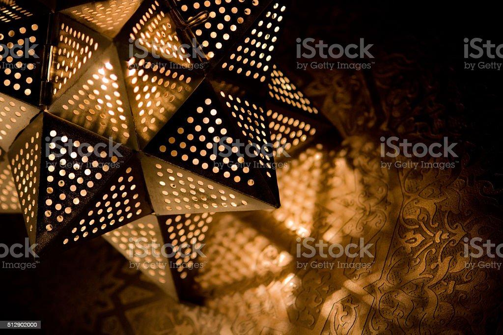 Arabesque light stock photo