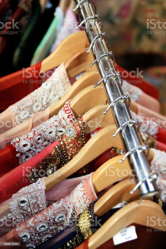 arabesque textile royalty-free stock photo