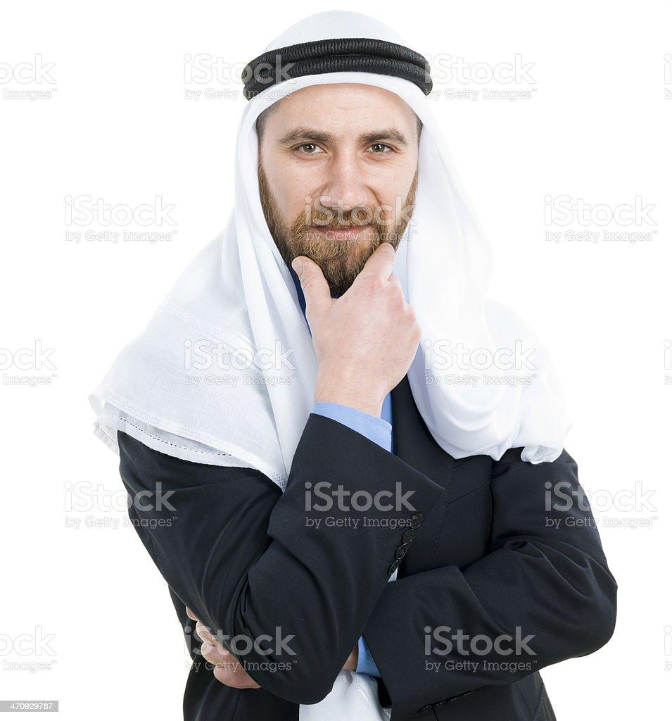 Arabian Businessman royalty-free stock photo