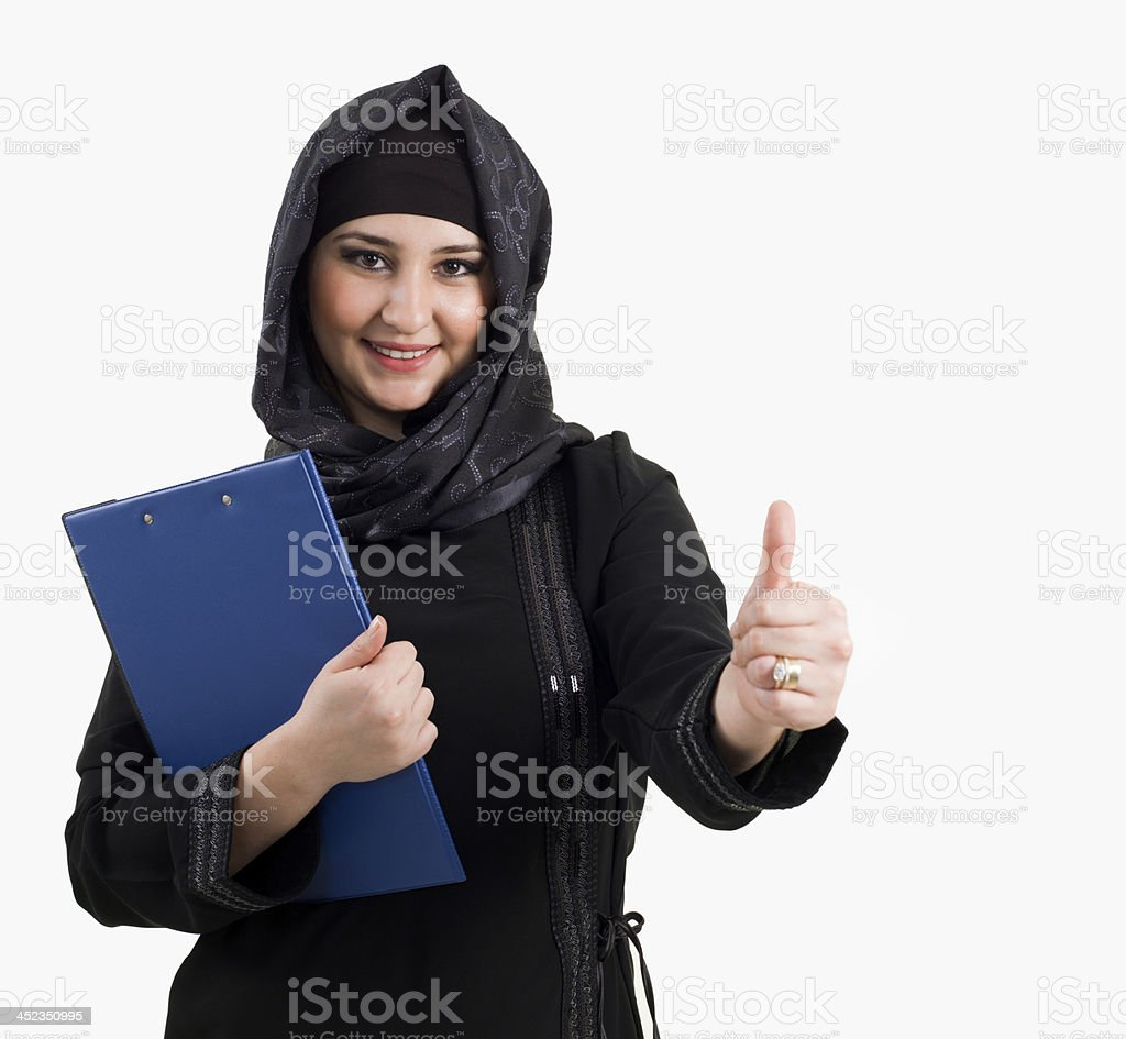 Arabian Businesswomen royalty-free stock photo