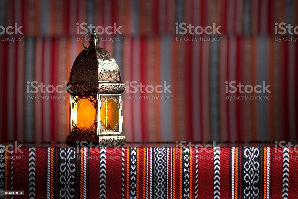 Arabian lamp stock photo
