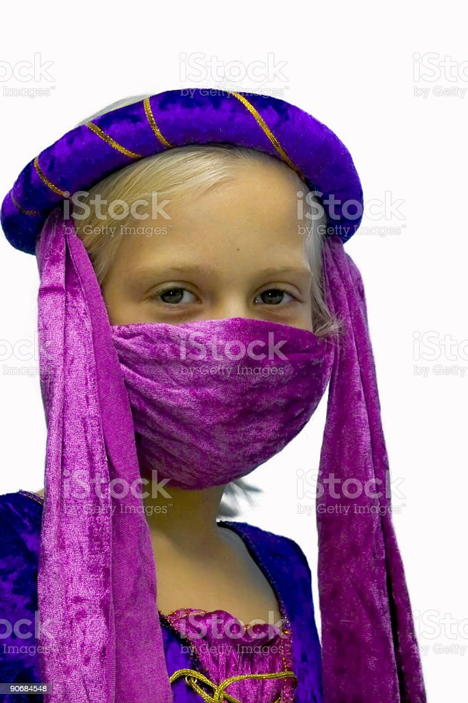 Arabian Princess royalty-free stock photo