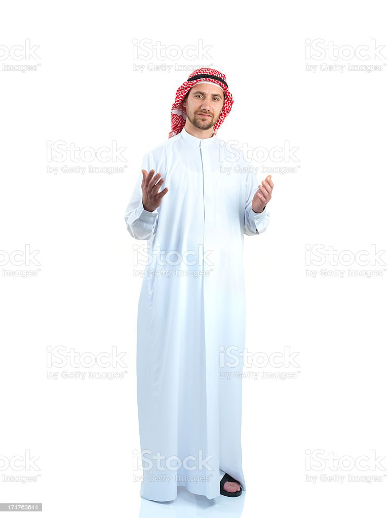 Arabian Young Adult Man royalty-free stock photo
