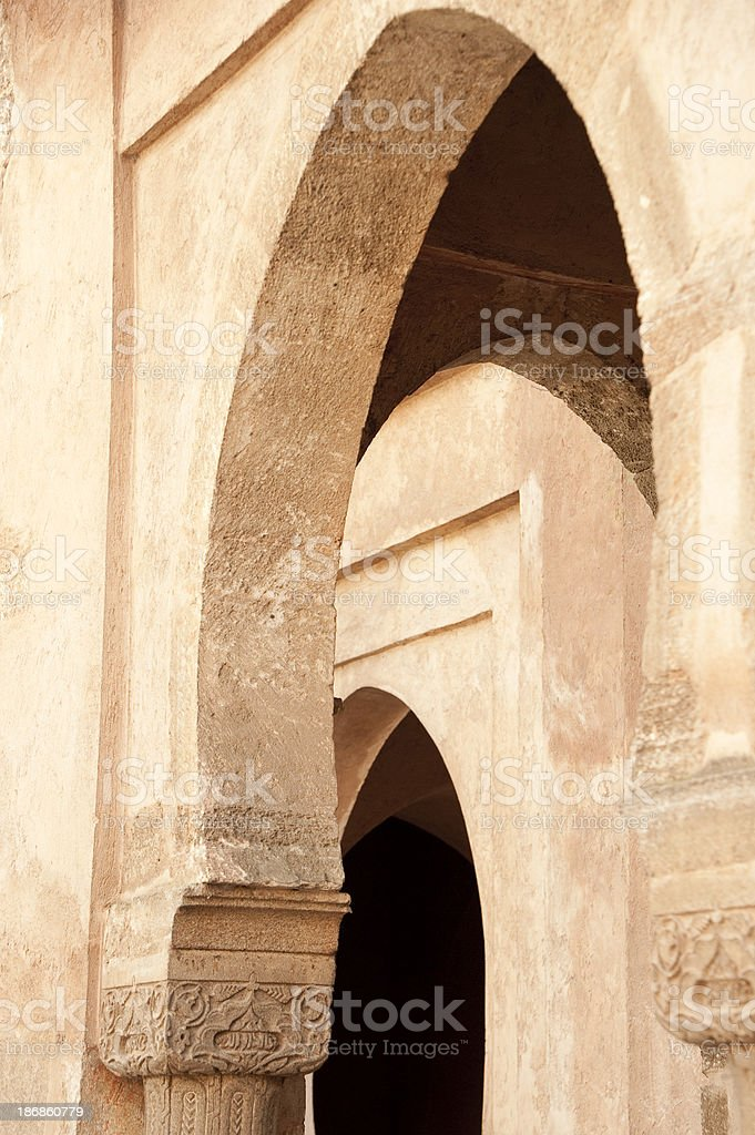 Arabic Arches royalty-free stock photo