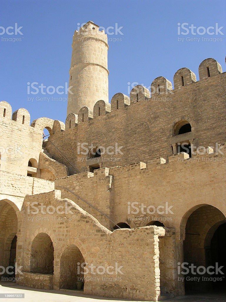 Arabic castle royalty-free stock photo