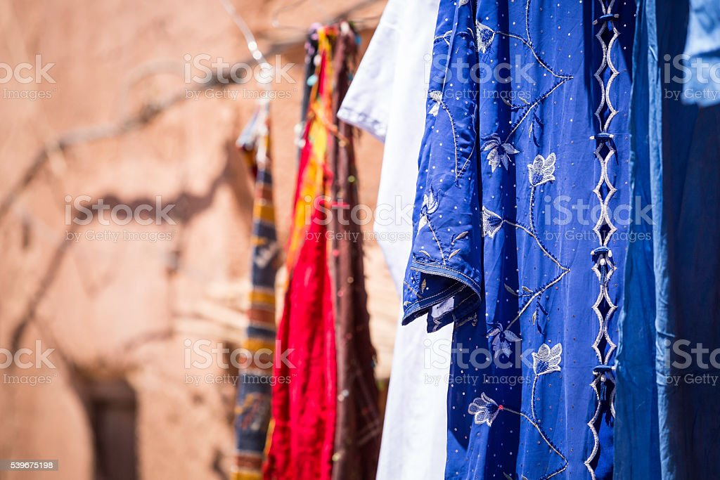 arabic clothes stock photo