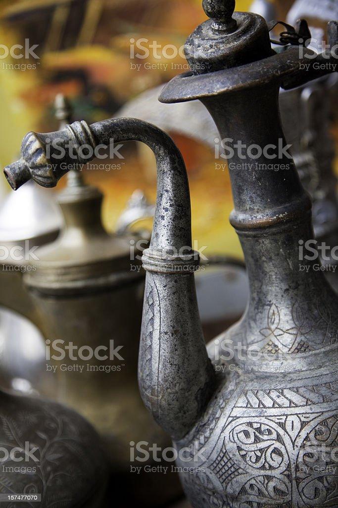 Arabic Coffee Pot royalty-free stock photo
