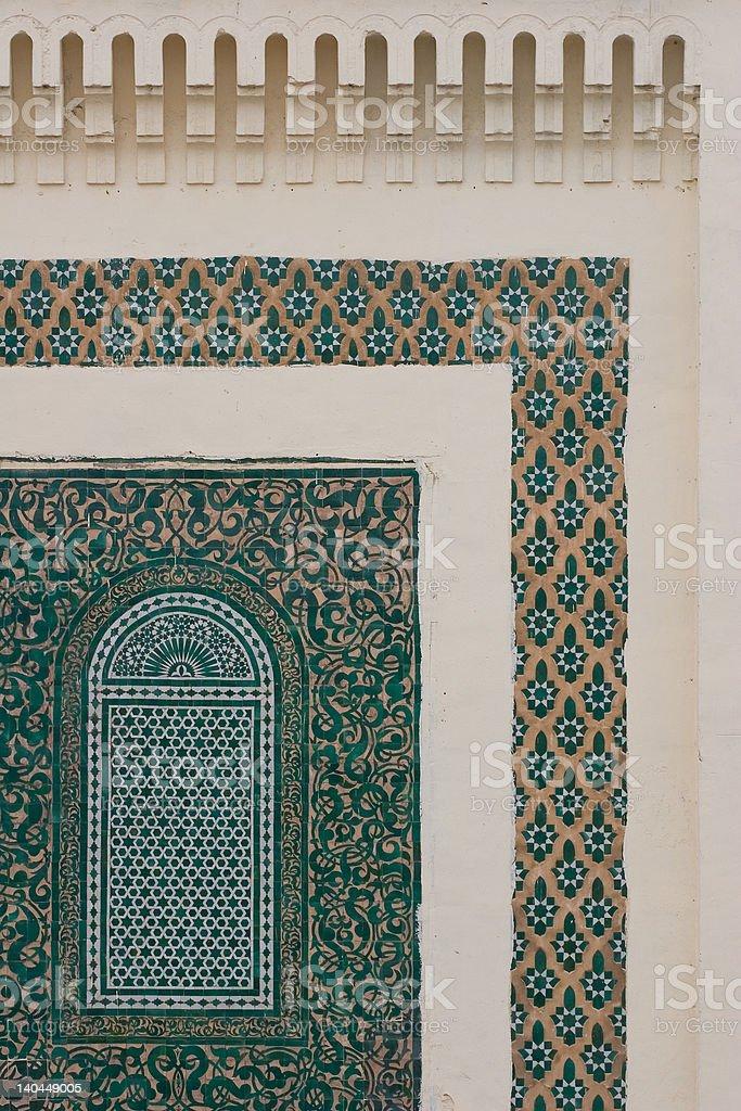 arabic decoration royalty-free stock photo