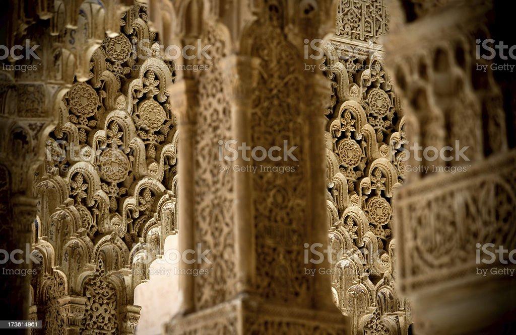 Arabic decorations royalty-free stock photo