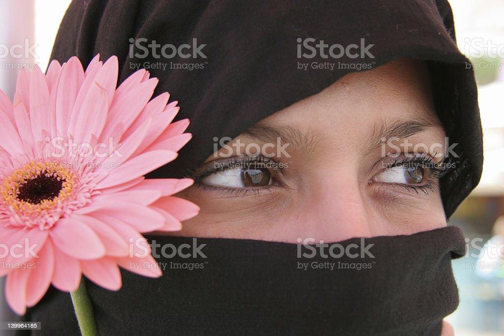 Arabic eyes 13 royalty-free stock photo