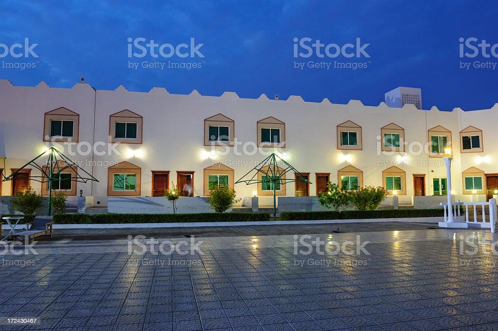 Arabic hotel detail royalty-free stock photo