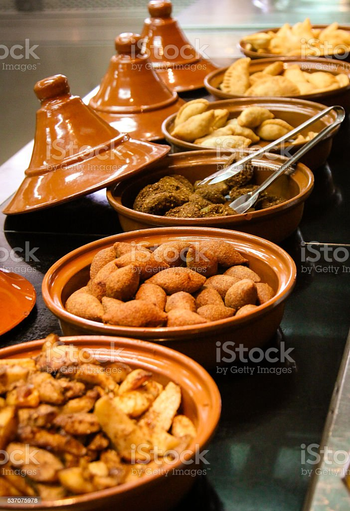 Arabic Iftar Food stock photo