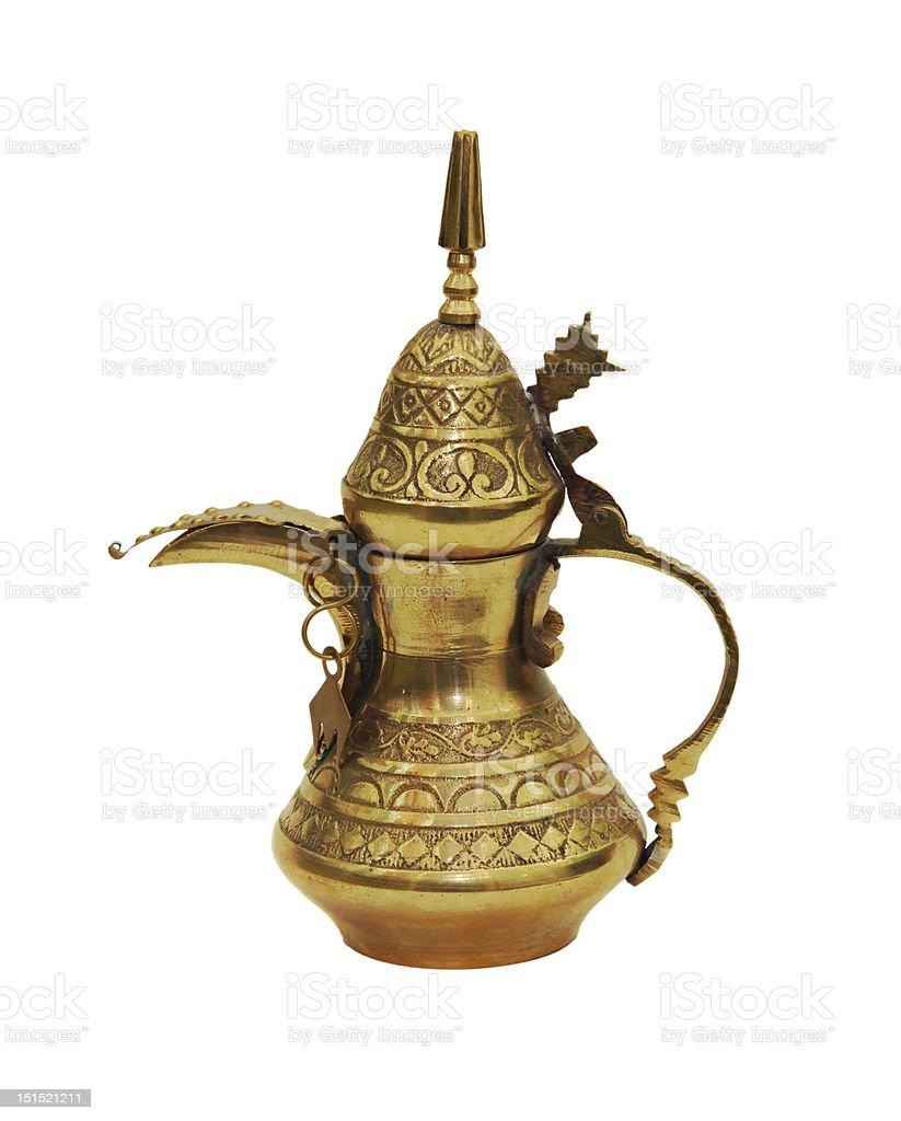 Arabic jar royalty-free stock photo