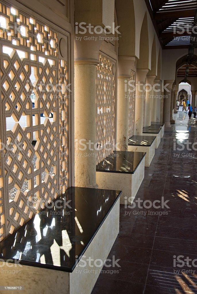 Arabic Lattice details stock photo