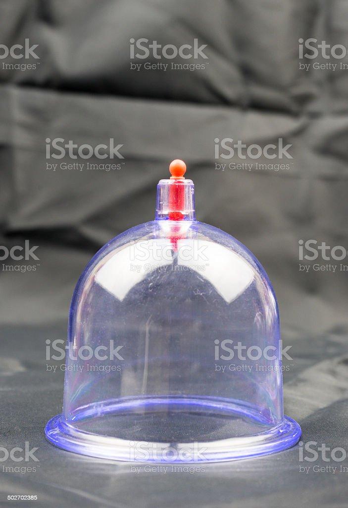 Arabic medical cupping therapy equipment - Bekam Hijama stock photo