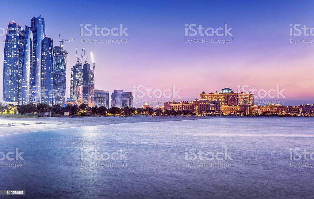 Arabic Nights in Abu Dhabi (UAE) stock photo