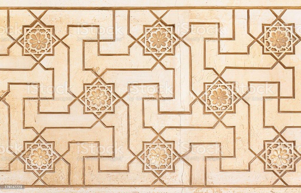 Arabic pattern royalty-free stock photo
