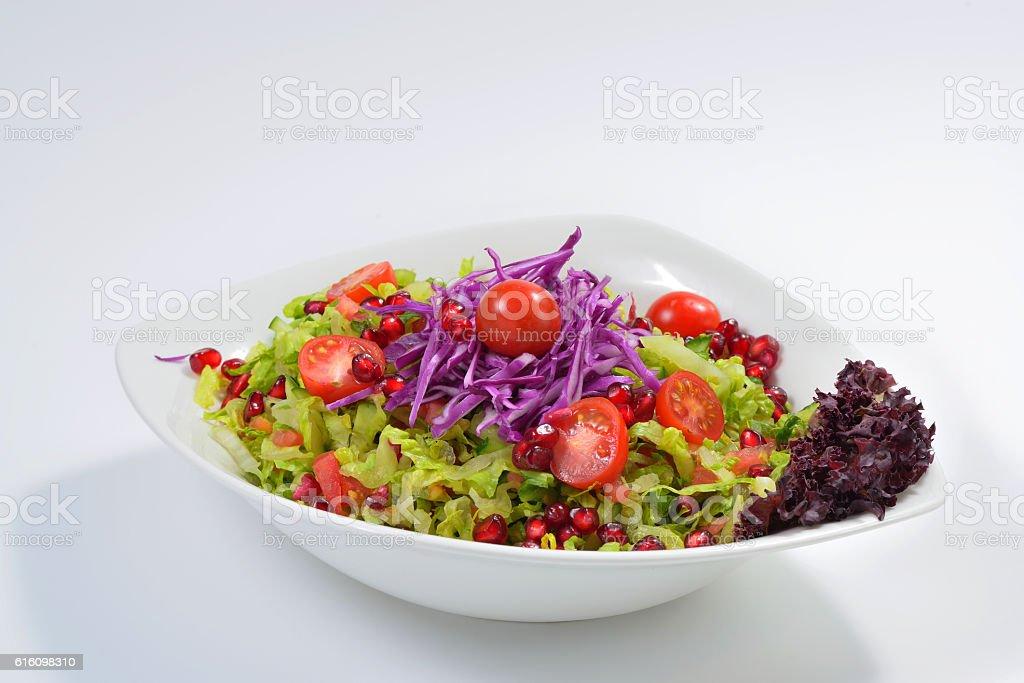Arabic Salad stock photo