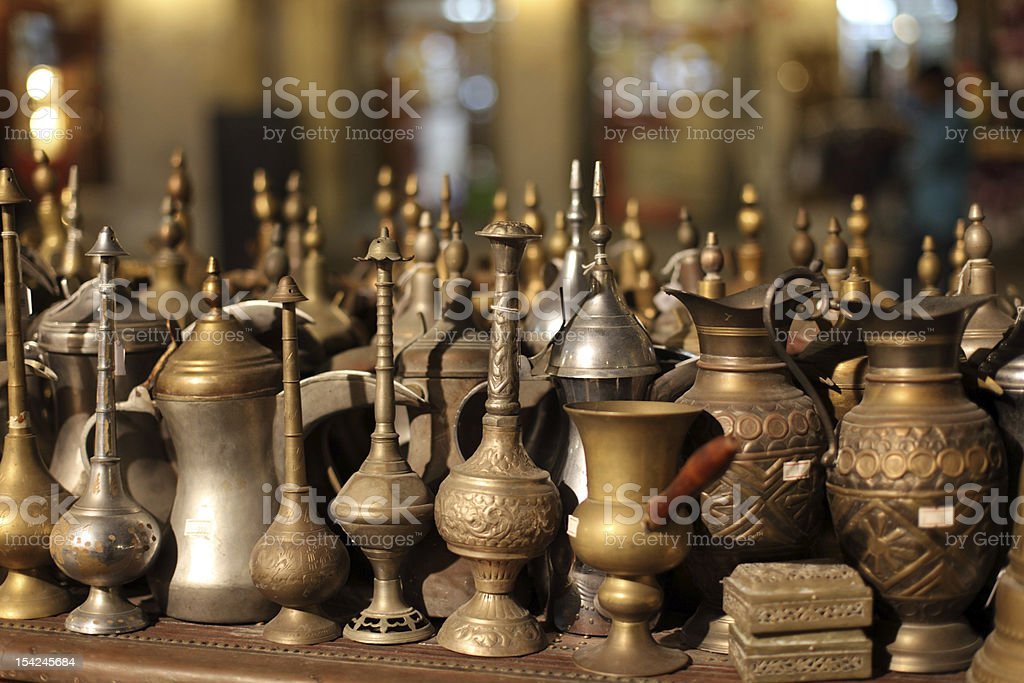 Arabic souvenirs stock photo