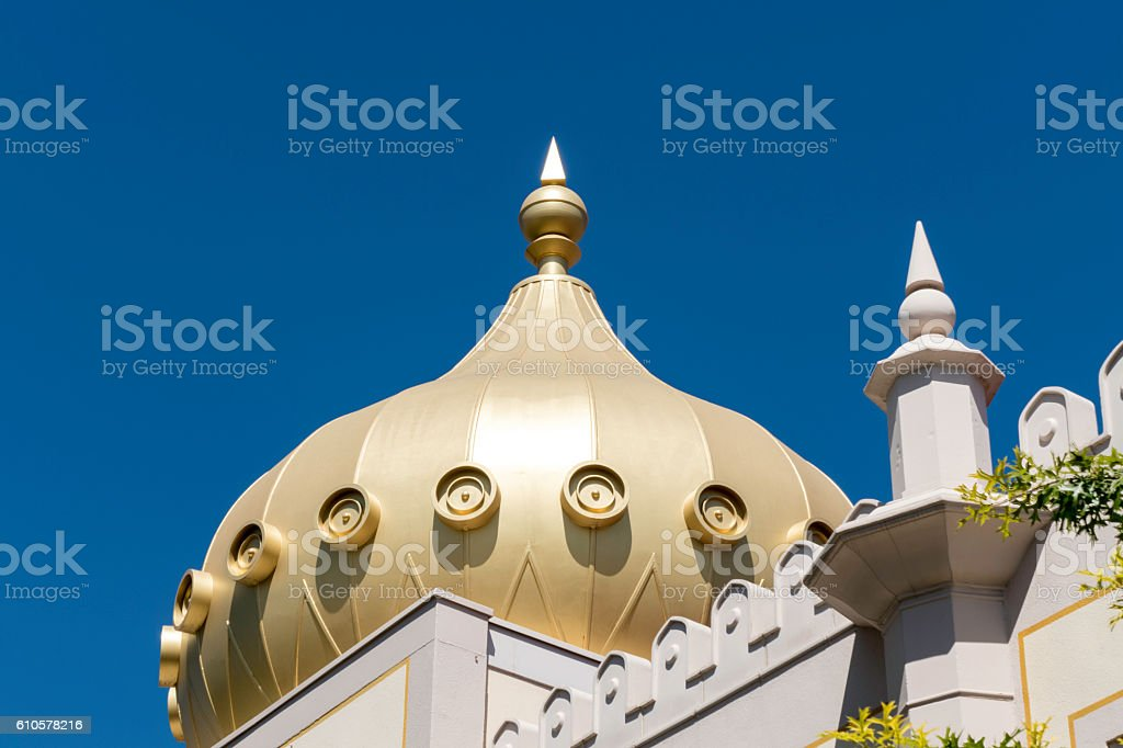 Arabic Style Architectural detail stock photo