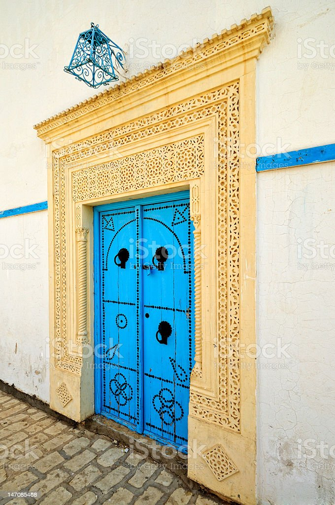 Arabic style house entrance royalty-free stock photo