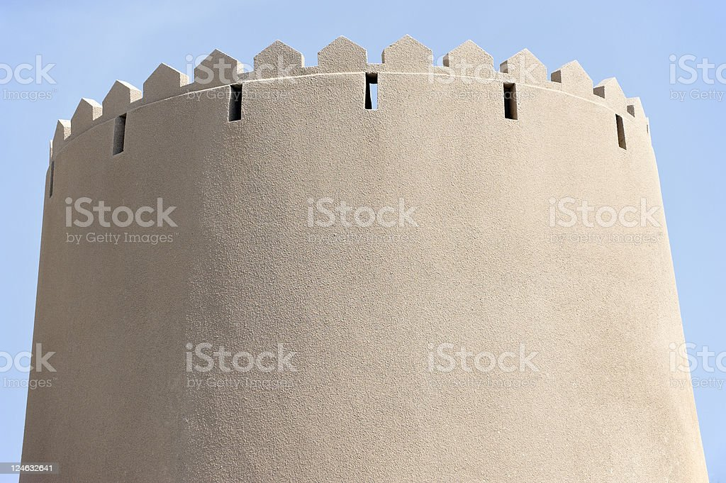 arabic style tower stock photo