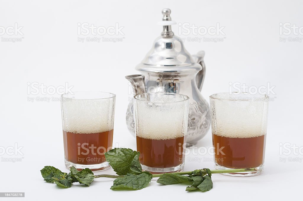arabic tea royalty-free stock photo