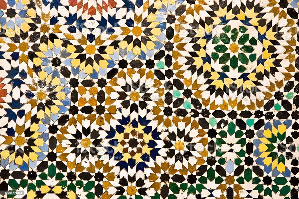Arabic texture stock photo