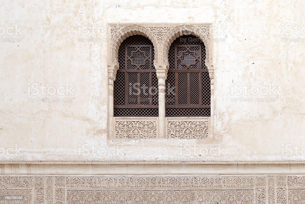 Arabic Window royalty-free stock photo