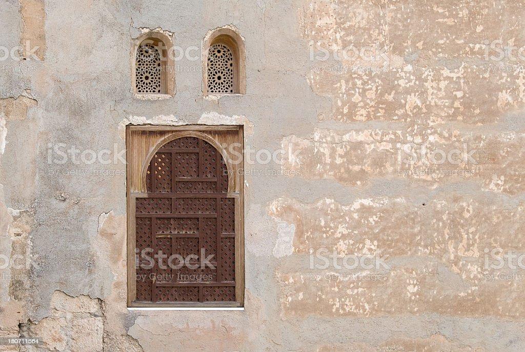 Arabic Windows royalty-free stock photo