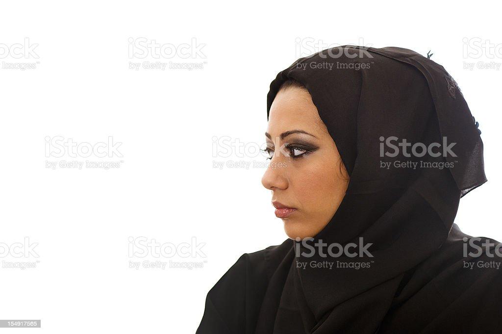 Arabic woman royalty-free stock photo