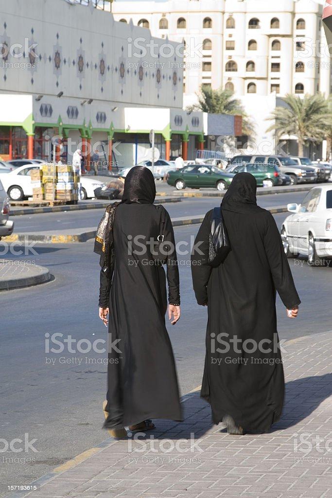 arabic women royalty-free stock photo