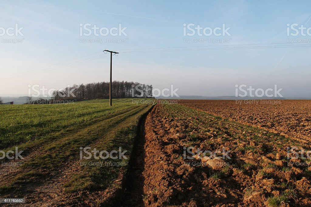 Arable stock photo