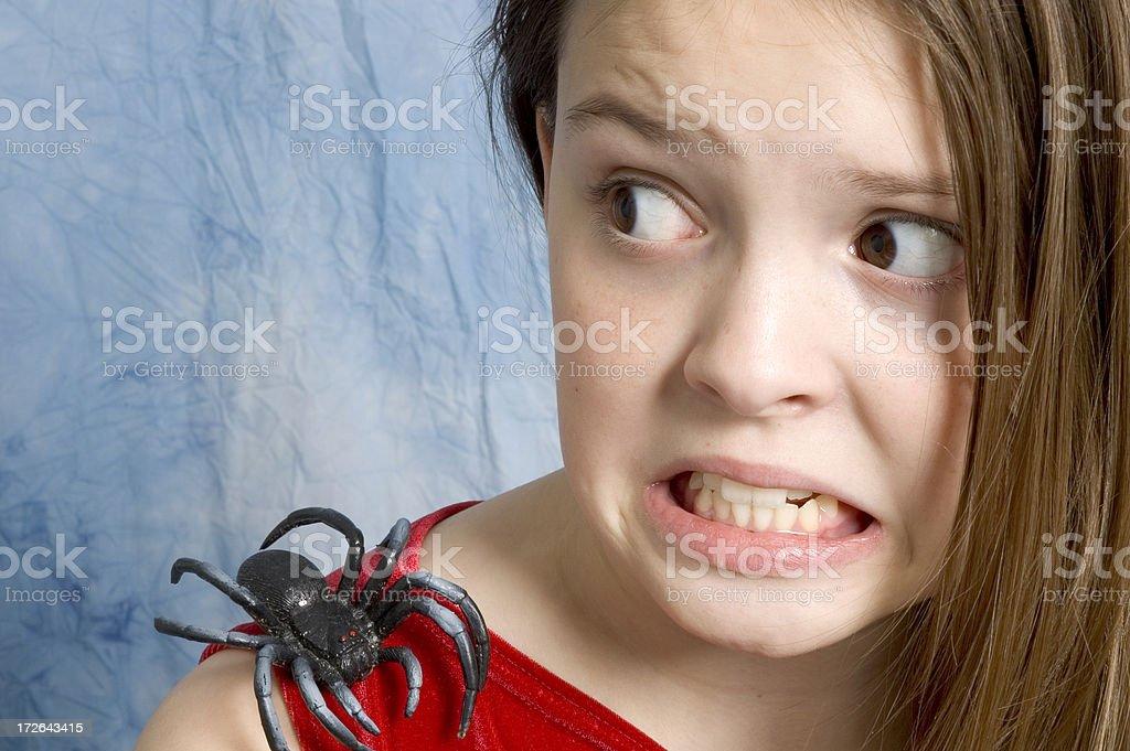Arachnophobia - 3 stock photo