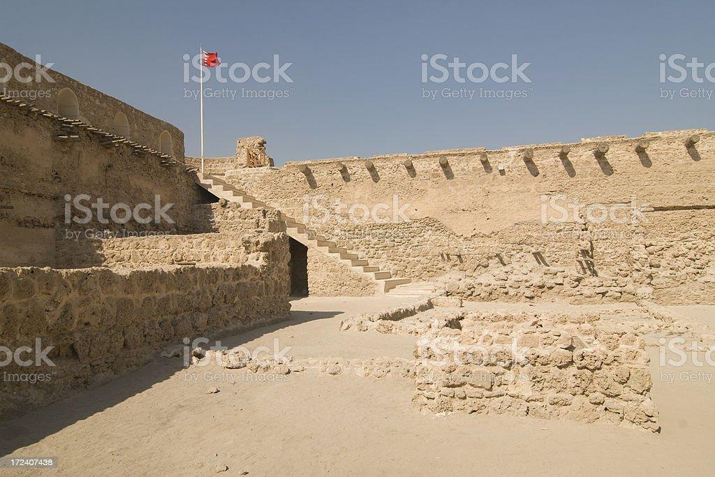 Arad Fort Bahrain stock photo