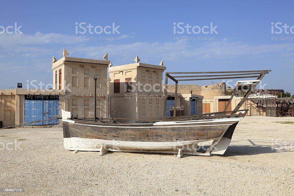 Arad Fort in Muharraq. Bahrain stock photo