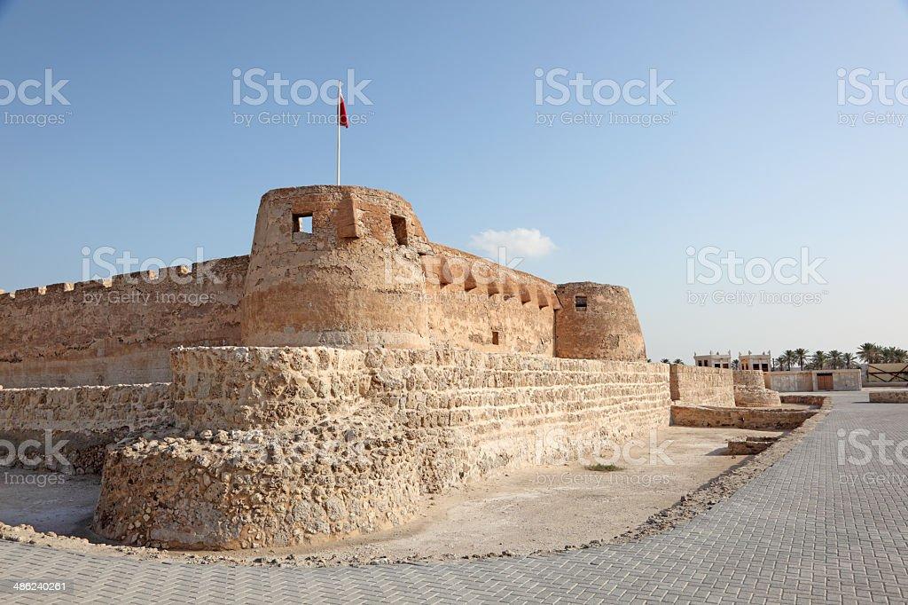 Arad Fort in Muharraq. Manama, Bahrain stock photo