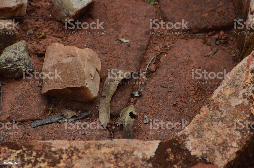 Aragonite brute stock photo