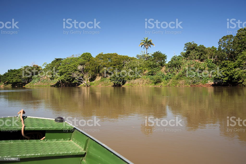 Araguaia River royalty-free stock photo