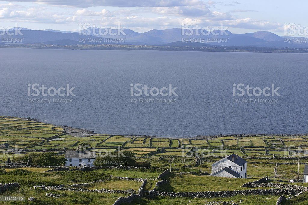 Aran islands, Ireland stock photo