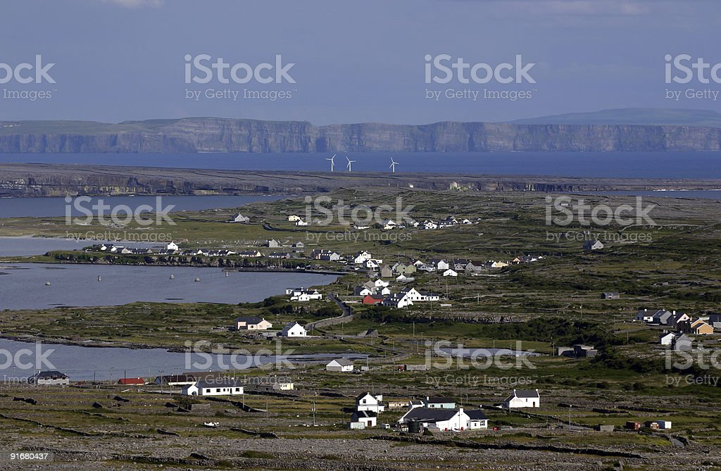 Aran Islands, Ireland royalty-free stock photo
