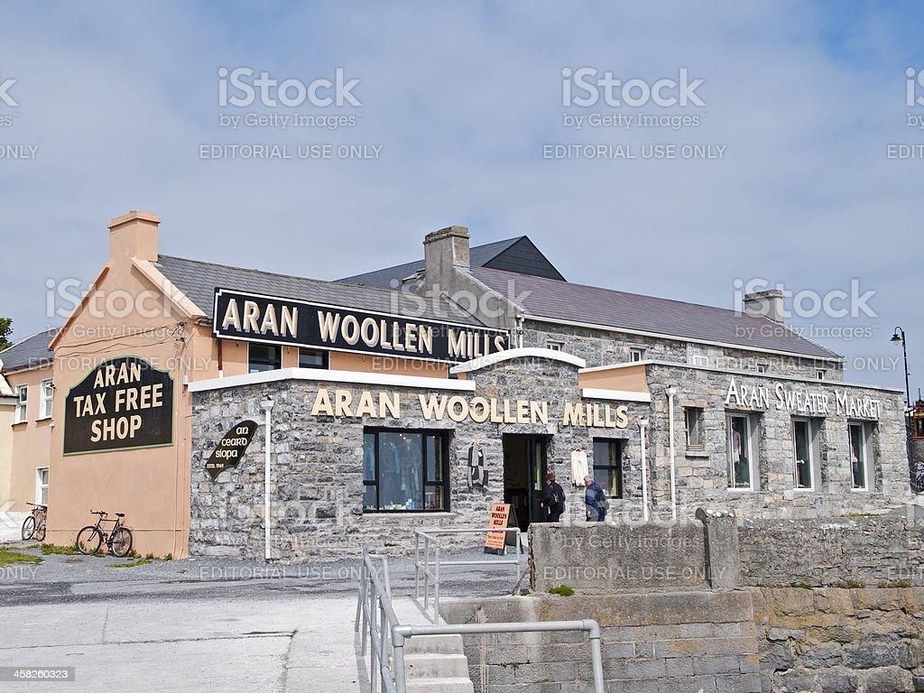 Aran woollen Mills royalty-free stock photo
