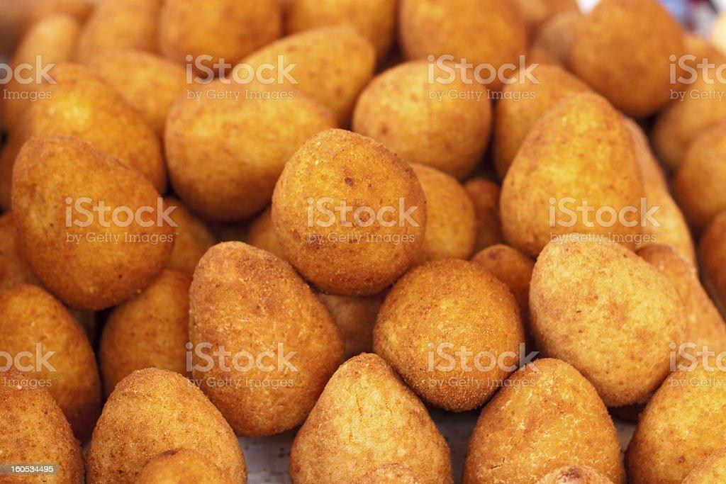 arancini - rice balls royalty-free stock photo