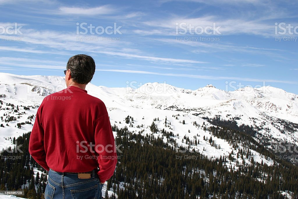 Arapahoe : Looking Out stock photo