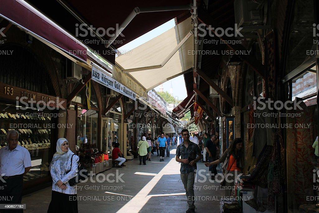 Arasta Bazaar stock photo