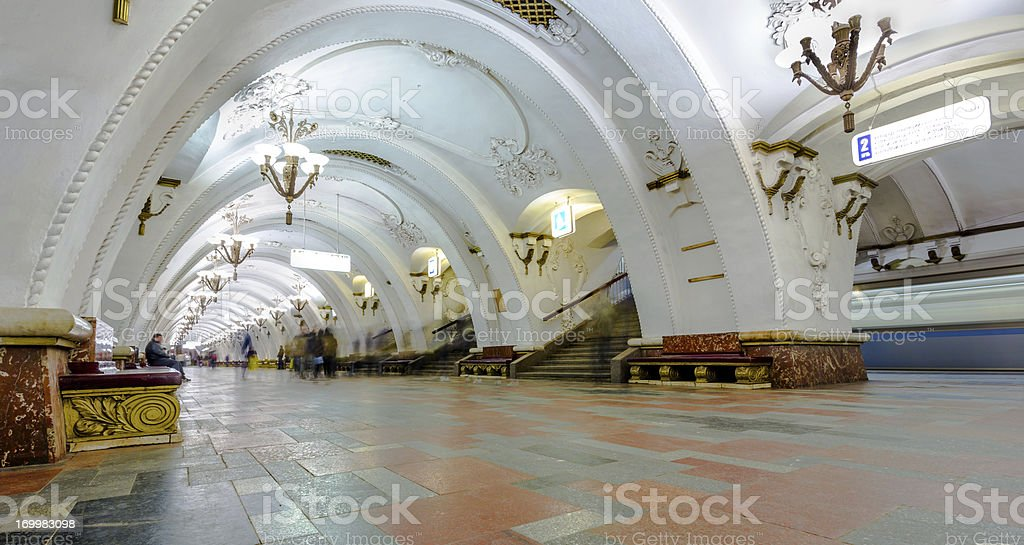 Arbatskaya metro royalty-free stock photo